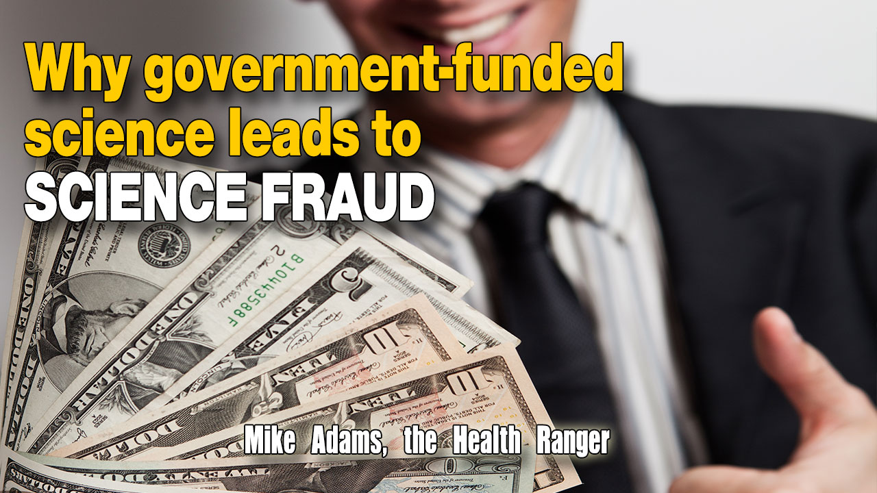 Image: Why government-funded science leads to science fraud (Audio)