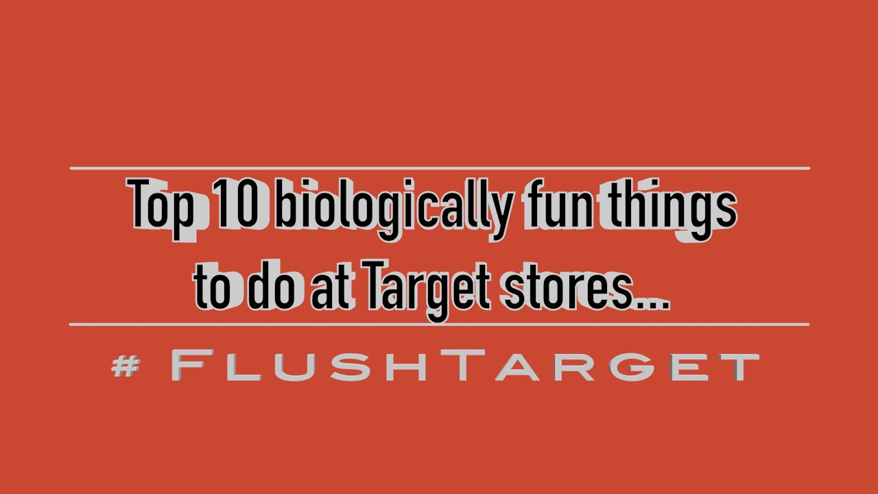 Image: Join the biological revolt against TARGET! Top 10 things to do (SATIRE) (Video)