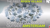 self sustaining village oustide amsterdam