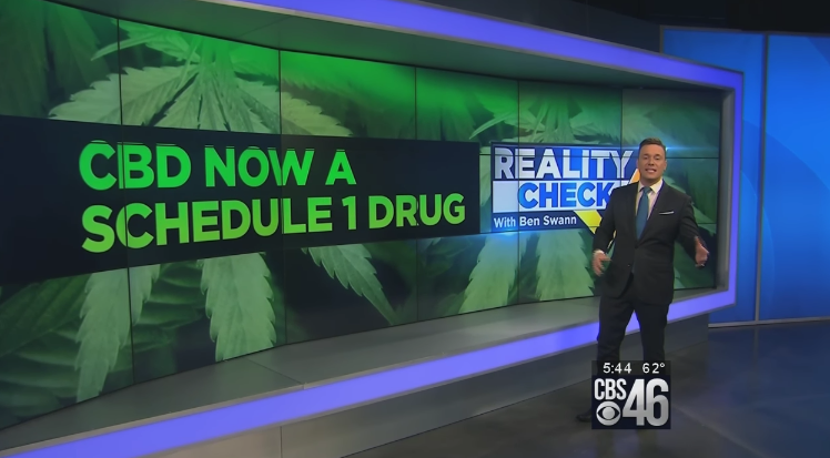 Image: Video Exposes Vile Nature of DEA Wrongly Classifying CBD Oil as Schedule 1 Drug (Video)