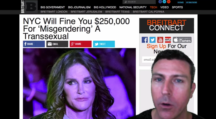 Image: NYC Will Fine You $250,000 For Calling Caitlyn Jenner a He (Video)