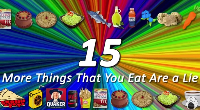 Image: 15 Things You Eat That Are a Lie (Video)