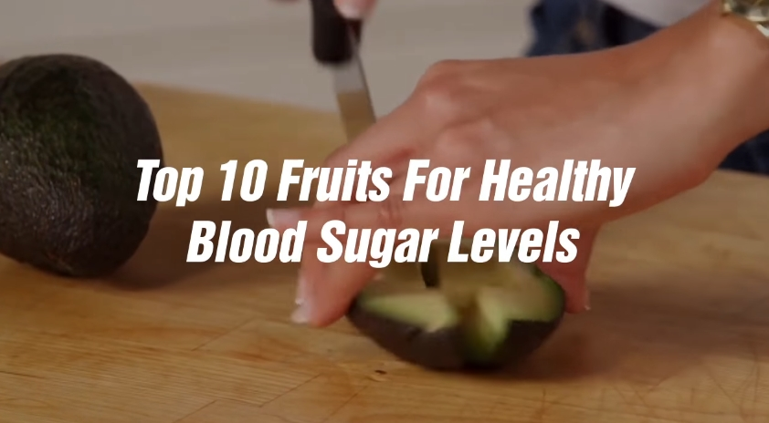 Image: Top 10 Fruits for Healthy Blood Sugar Levels (Video)