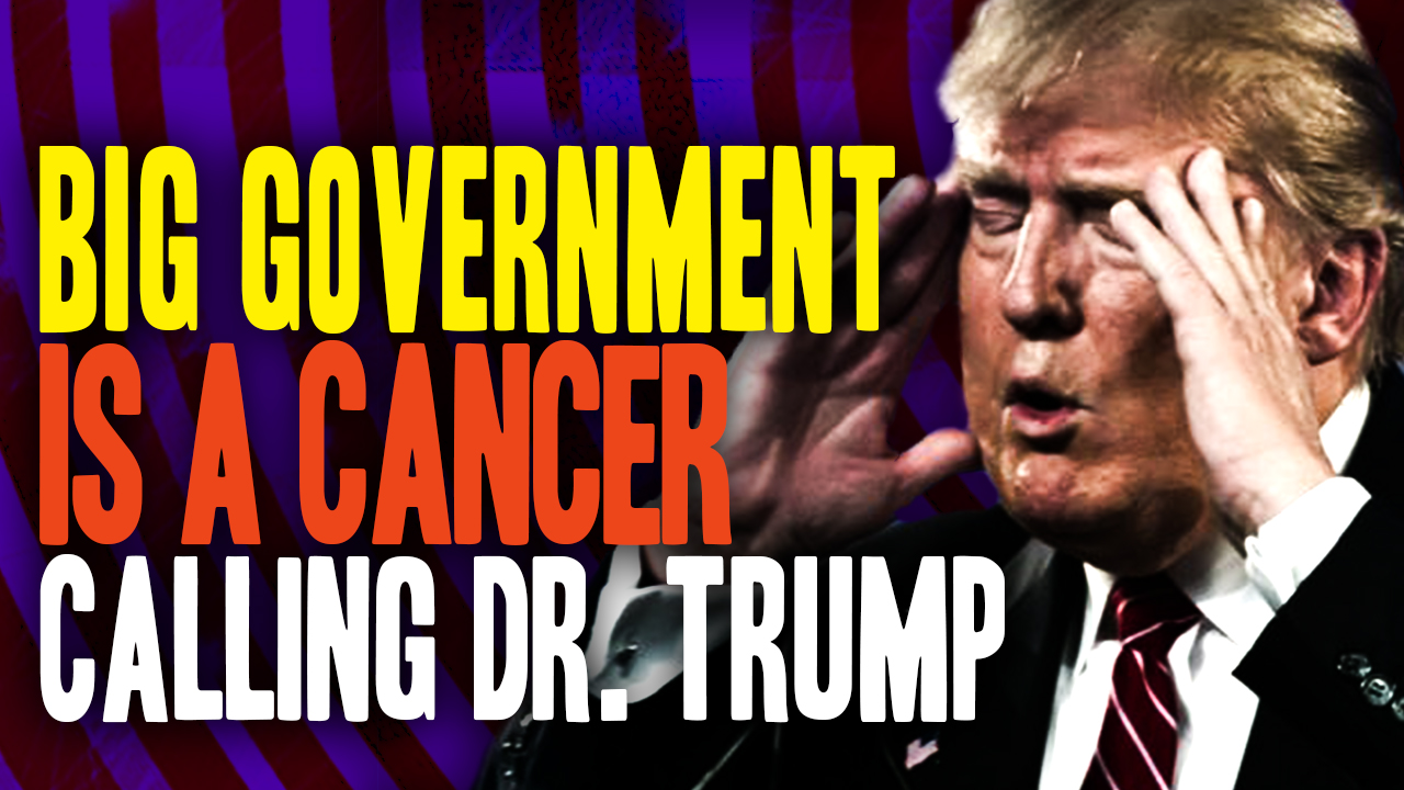 Image: The Bureaucracy Opposing Trump Is Like a Cancer Tumor (Video)