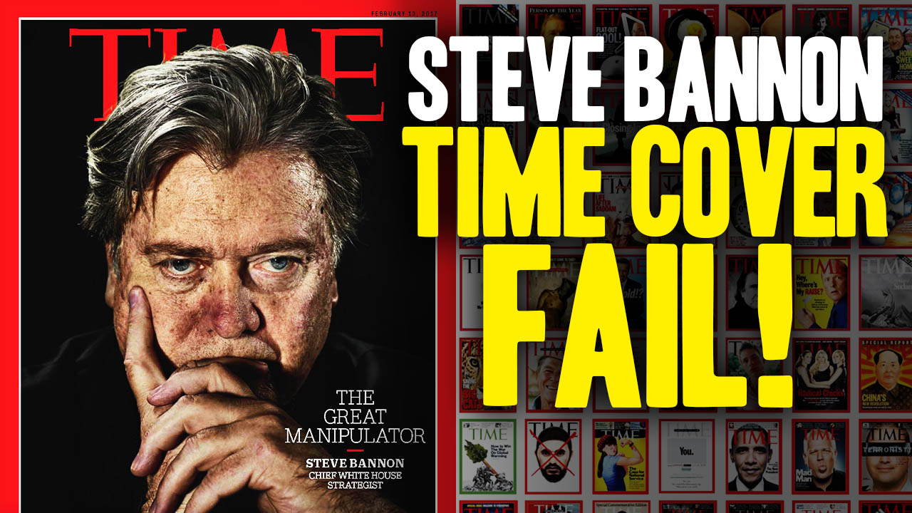 Image: TIME Manipulates Steve Bannon Cover Photo (Video)