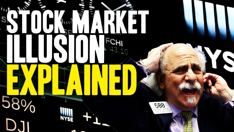 Image: The Stock Market Illusion Explained (Video)