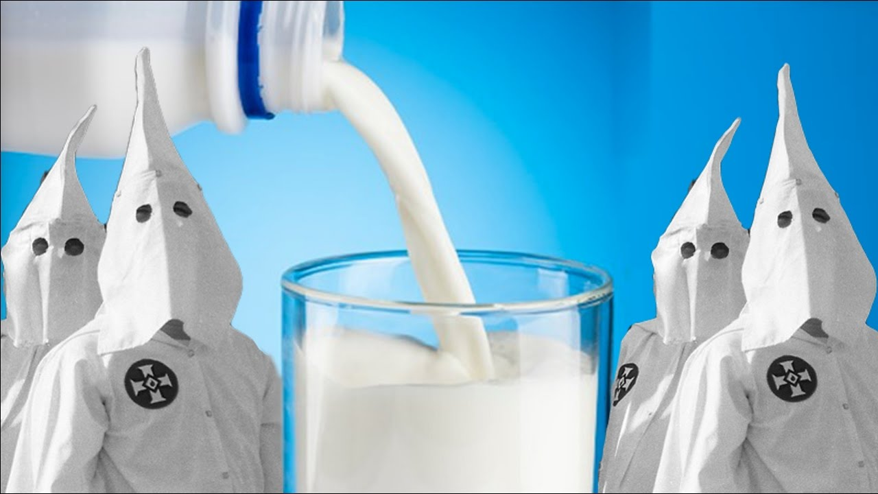 Image: Liberals Now Claim Milk is Racist (Video)