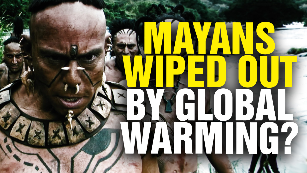Image: Mayan Civilization Wiped out by COAL Power Plants? HUH? (Video)