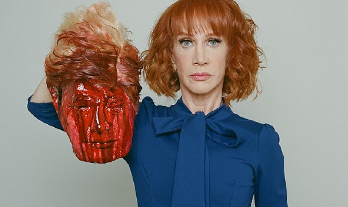 Image: Absolute Insanity: Kathy Griffin's Latest Trump Beheading Video Is a SAD CRY for Attention (Video)