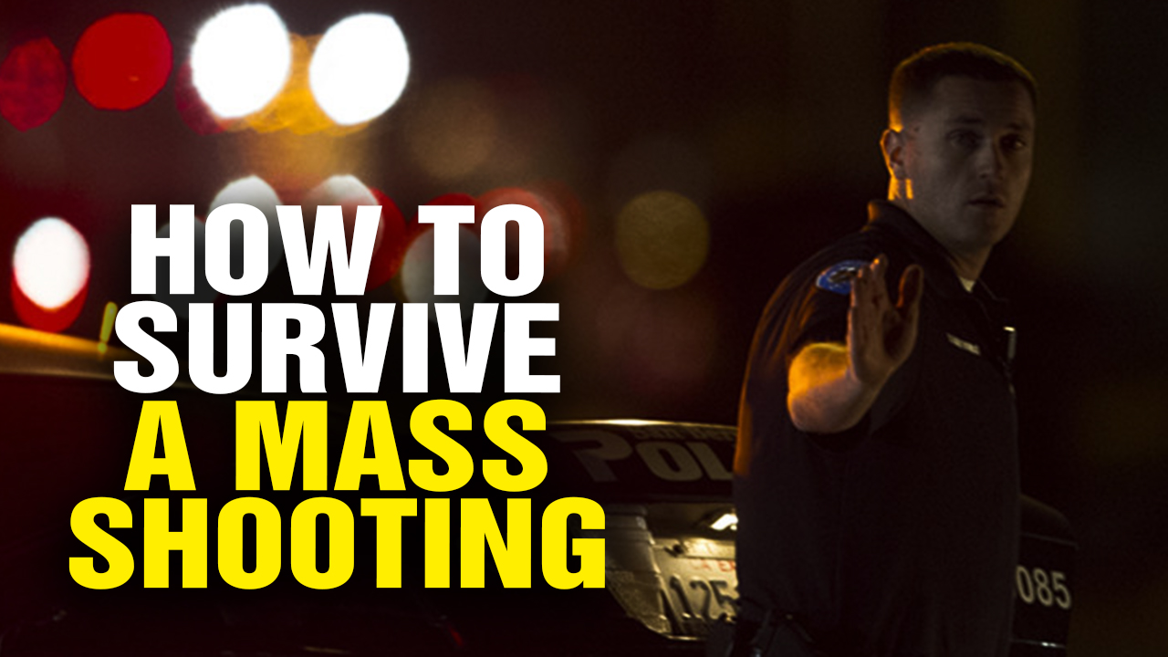 Image: The Single Most Effective Way to SURVIVE a Mass Shooting (Video)