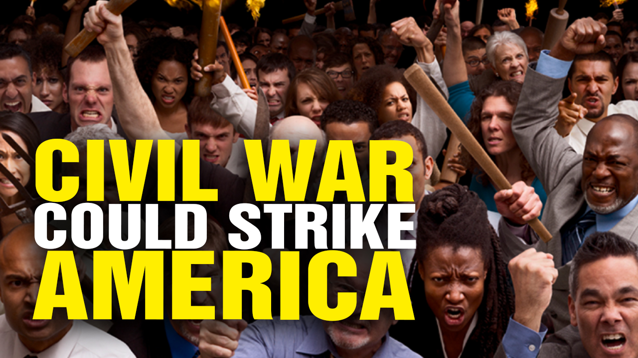 Image: CIVIL WAR Now HIGH RISK for America (Video)