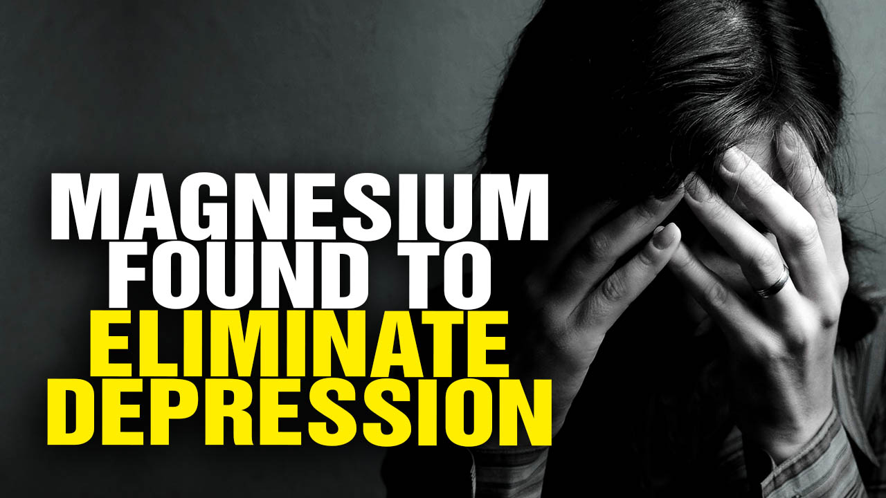 Image: Magnesium Found to Treat DEPRESSION Better Than Drugs (Video)