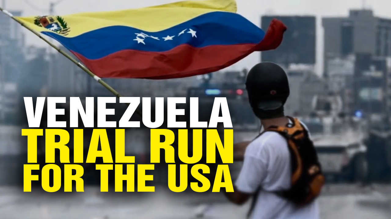 Image: Venezuela Is a TRIAL RUN for Collapse in America (Video)