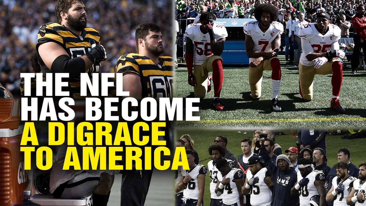 Image: The NFL Has Become a DISGRACE to America (Video)