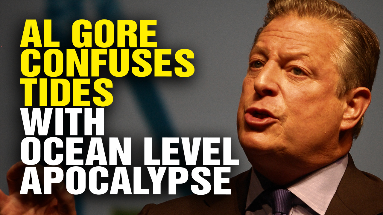 Image: Al Gore CLIMATE BUFFOON thinks tides are the oceans rising (Video)