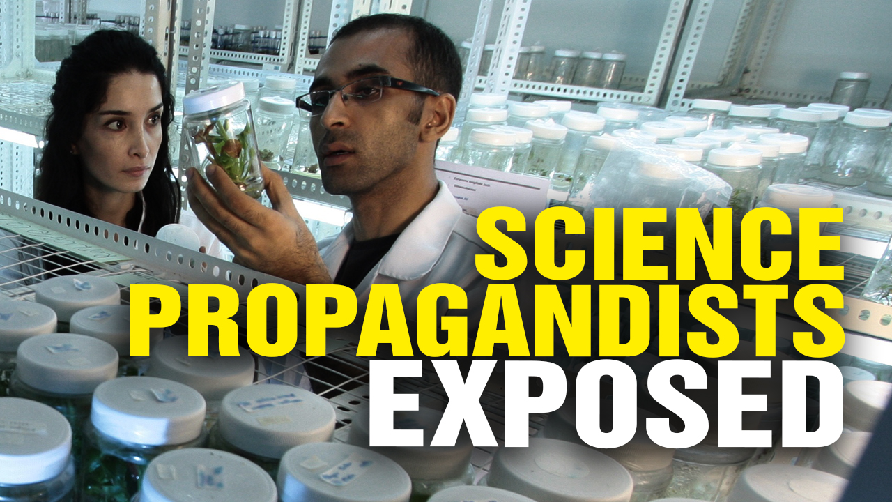 "Image: Science PROPAGANDISTS Falsely Claim ""Consensus"" (Video)"