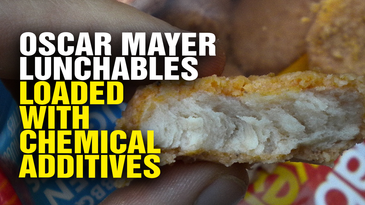 Image: Oscar Mayer Lunchables LOADED with Chemical Additives; Company Tries to Hide Ingredients from the Public (Video)
