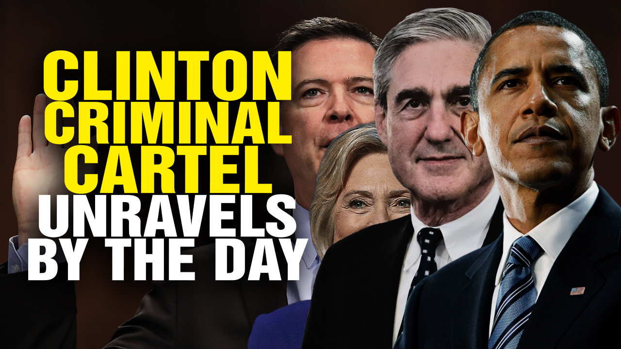 Image: The Clinton Criminal Cartel UNRAVELS… (Video)