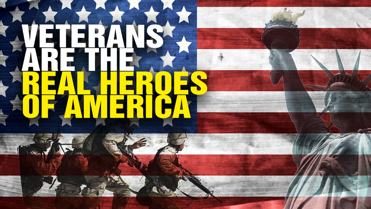 Image: Why VETERANS Are the Real Heroes of America (Video)